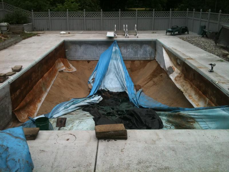 Jared 39 s pool services services for Vermiculite swimming pool base